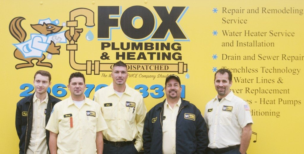 Fox Plumbing & Heating Team Photo